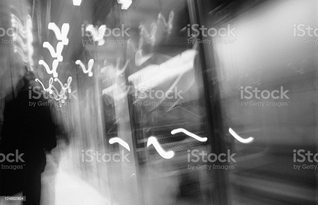Fast Commuting royalty-free stock photo