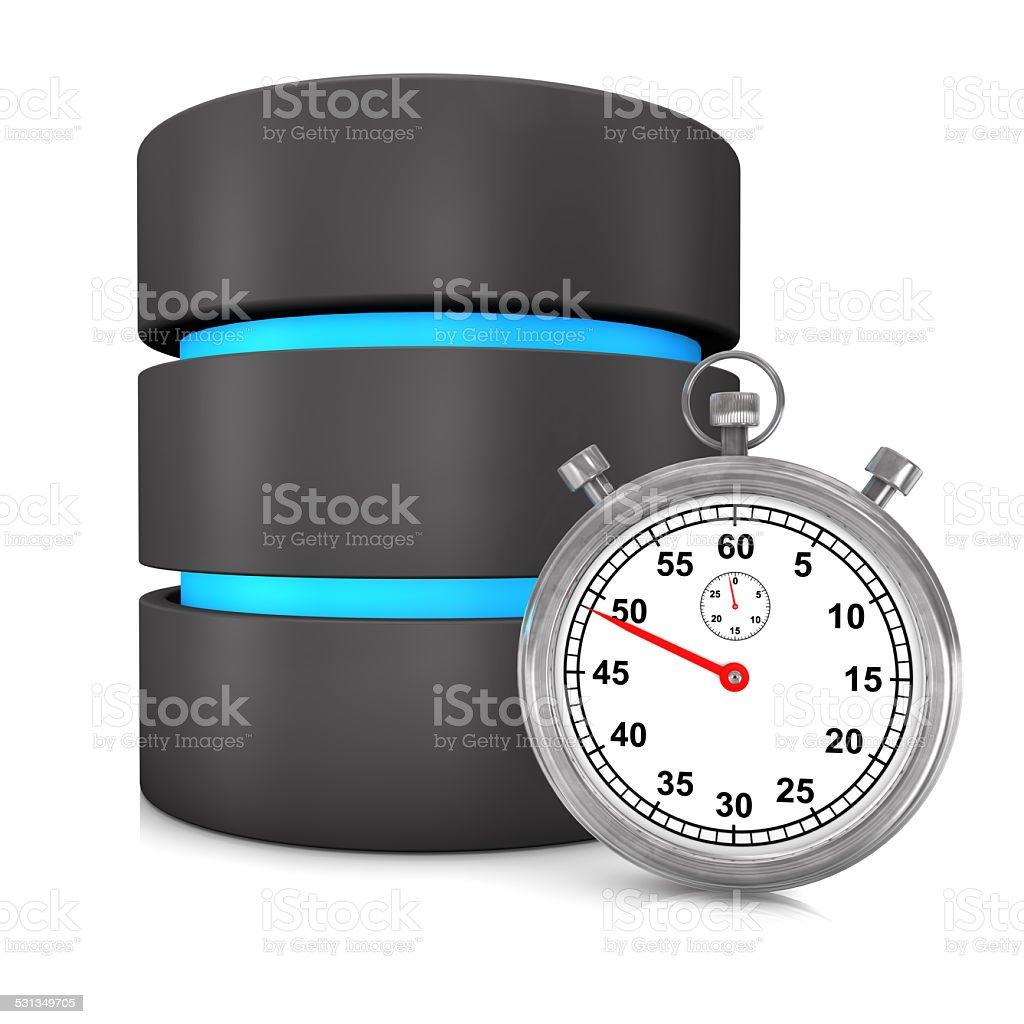Fast Database stock photo