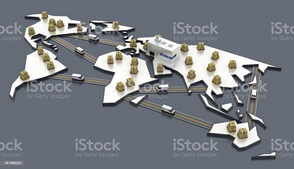 Fast Economy stock photo