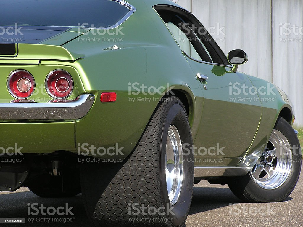 Fast, Even When Parked stock photo