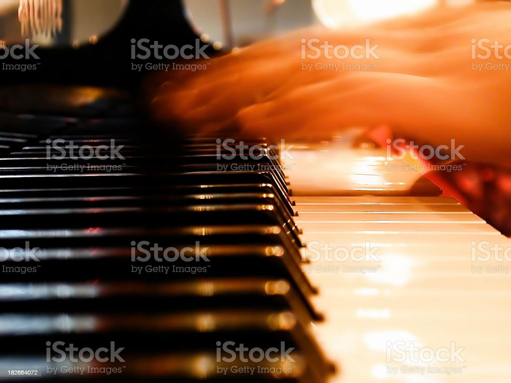 Fast fingers royalty-free stock photo
