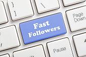 Fast followers key on keyboard