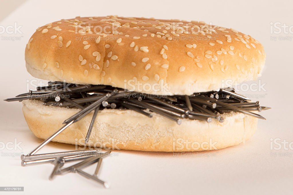 Fast Food Bread And Nails stock photo 472179731 | iStock