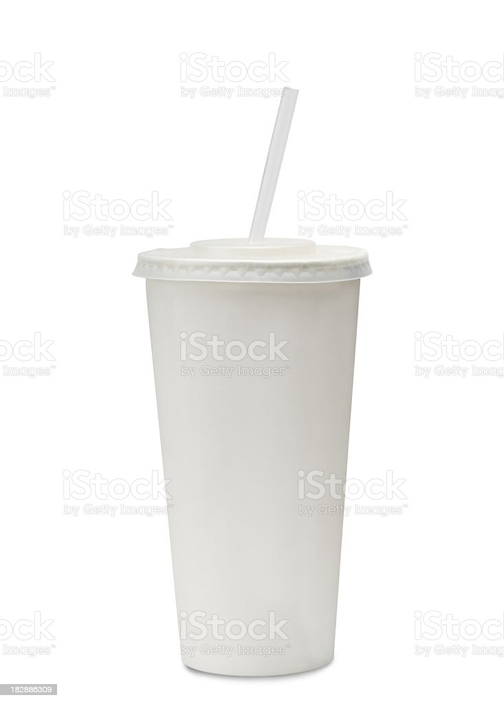 fast food soda cup stock photo