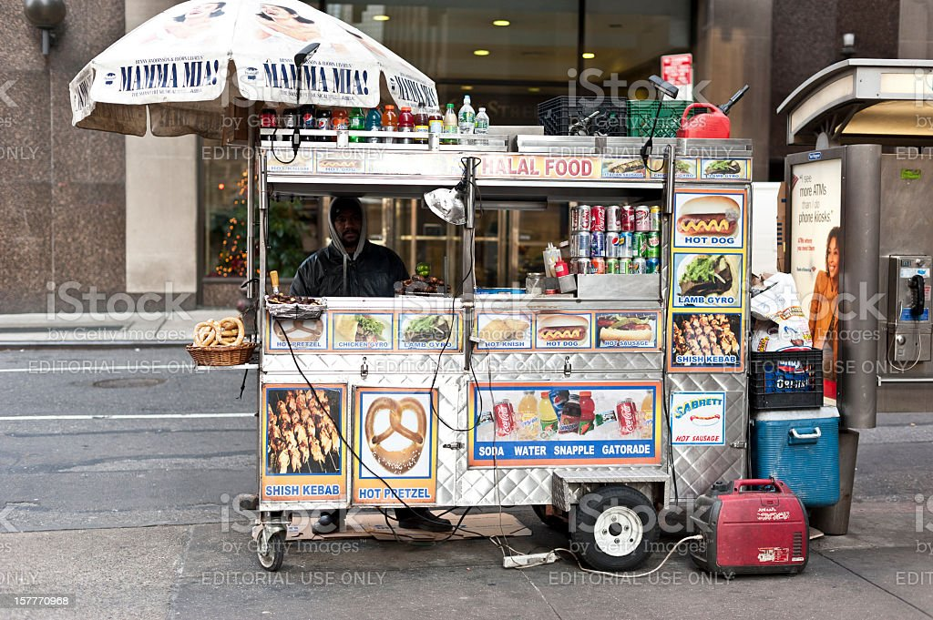 Fast food stand royalty-free stock photo