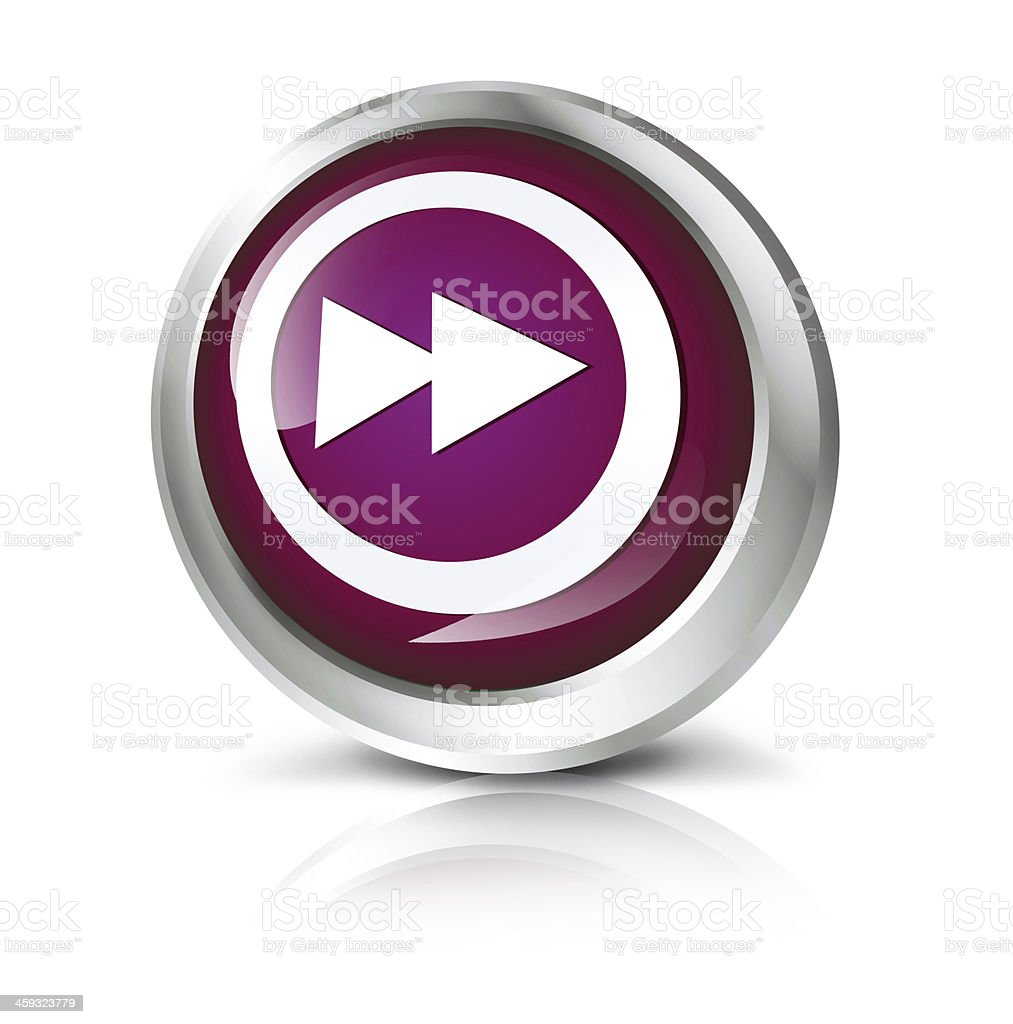 Fast forward icon stock photo