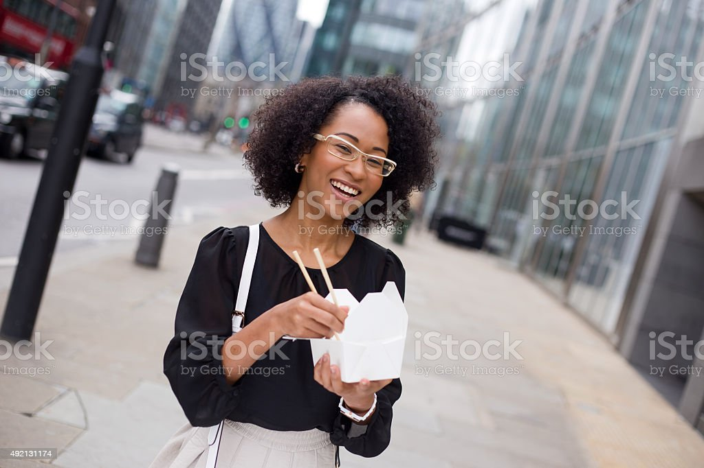 fast lunch royalty-free stock photo