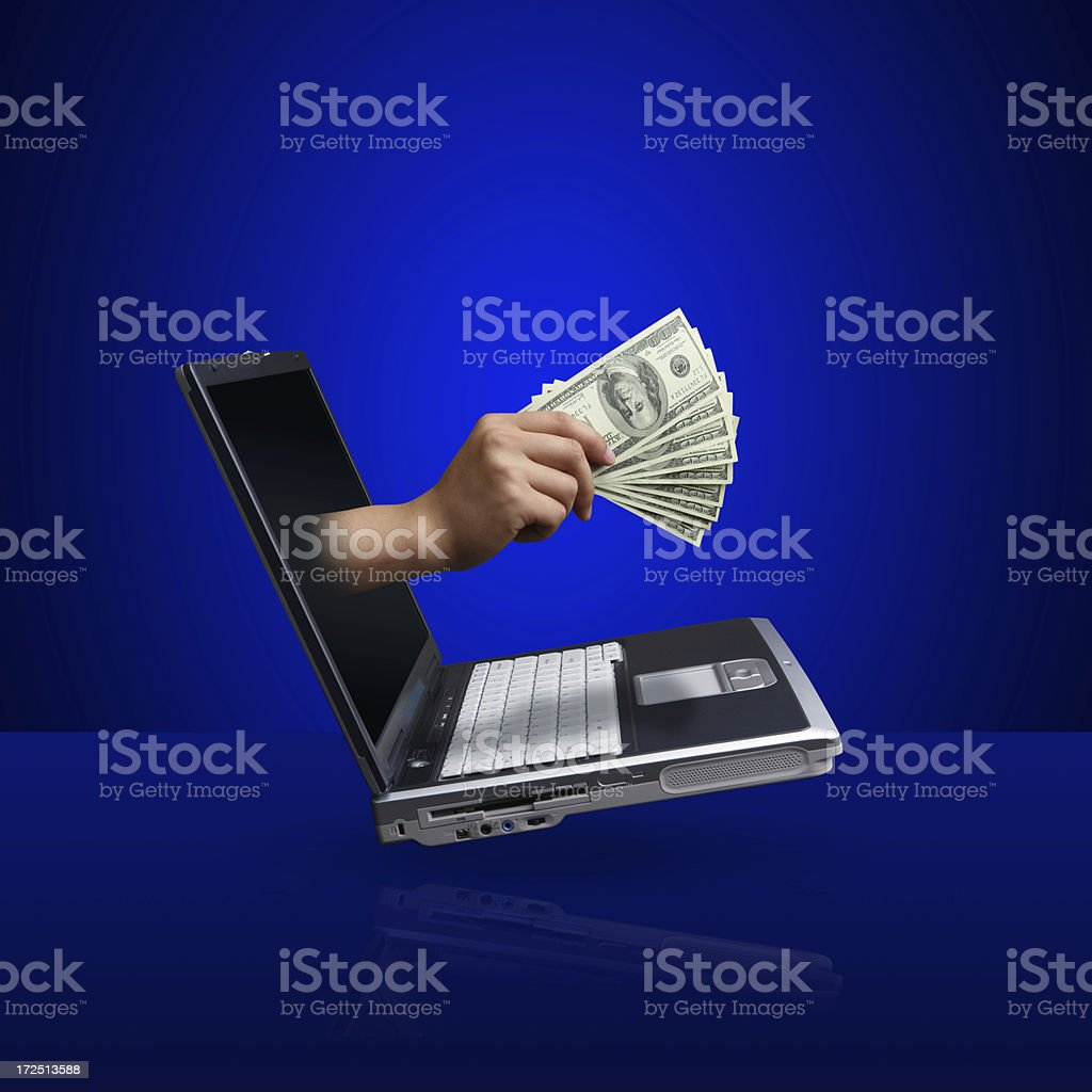 Fast Money Transfer(XXL) royalty-free stock photo