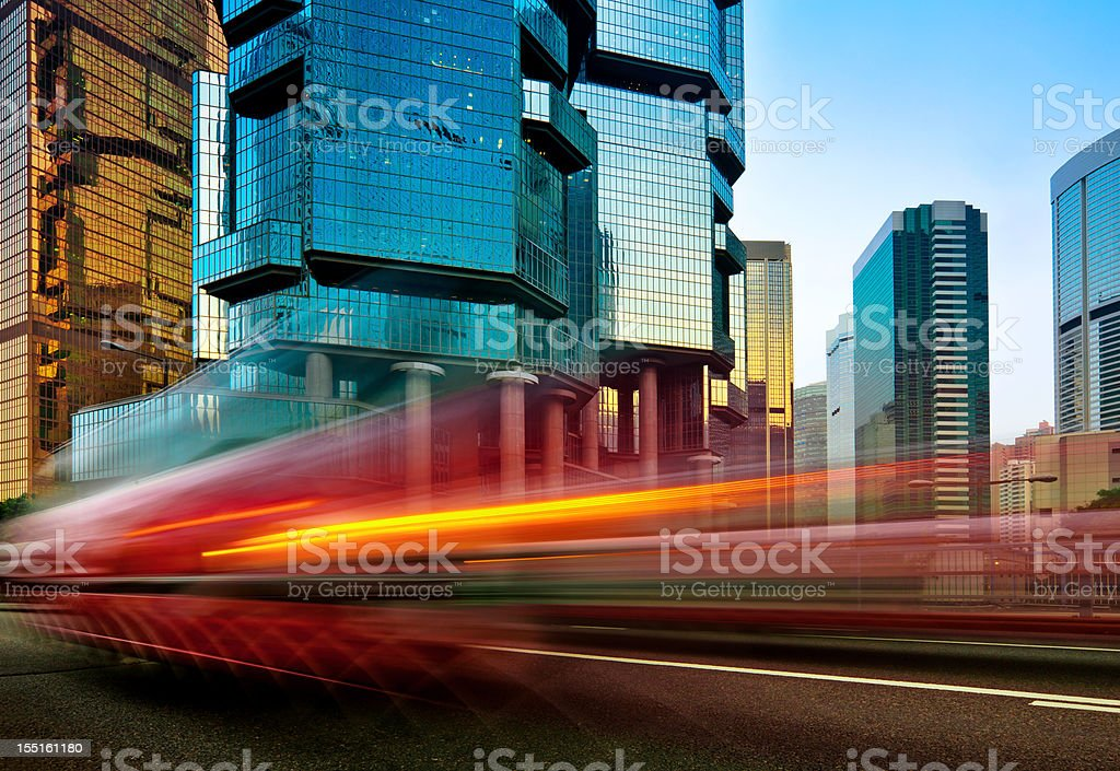 Fast moving Car royalty-free stock photo