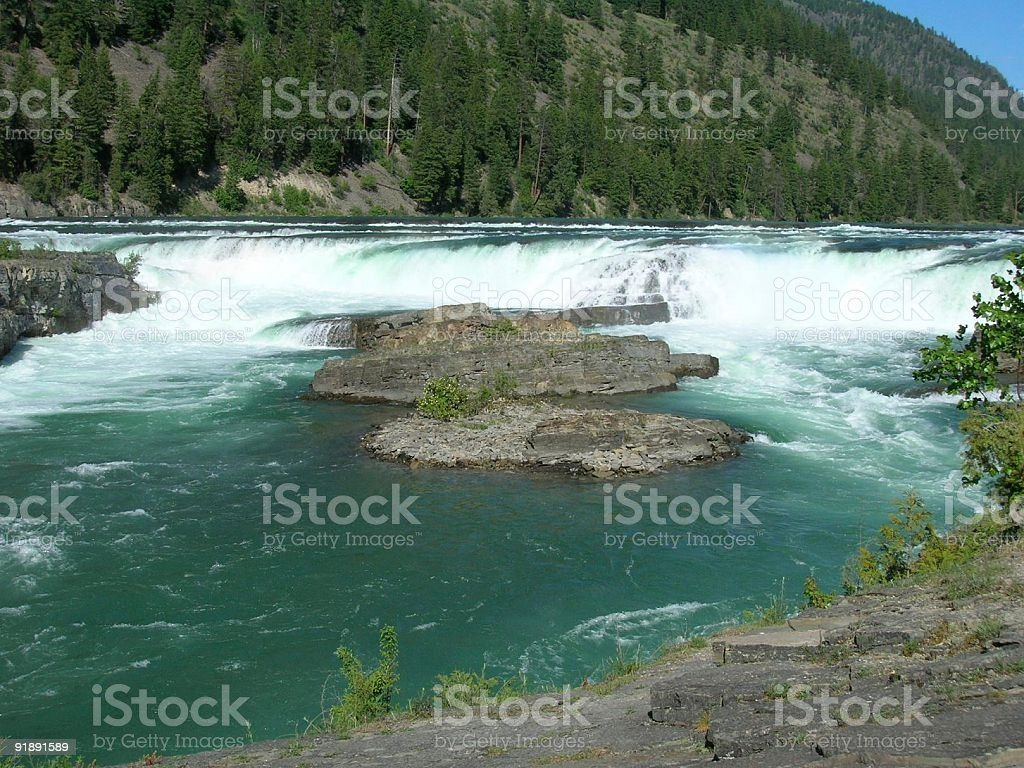 Fast Moving Waters stock photo