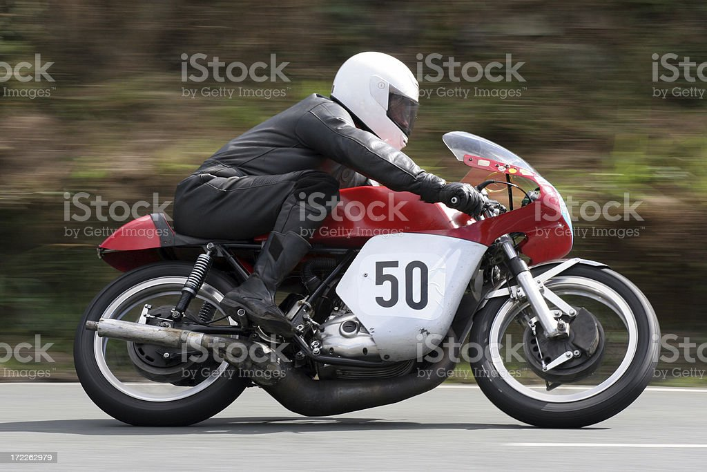Fast number fifty stock photo
