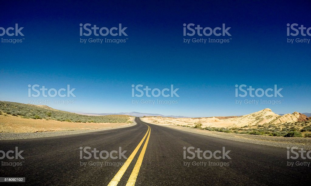 fast on the road stock photo
