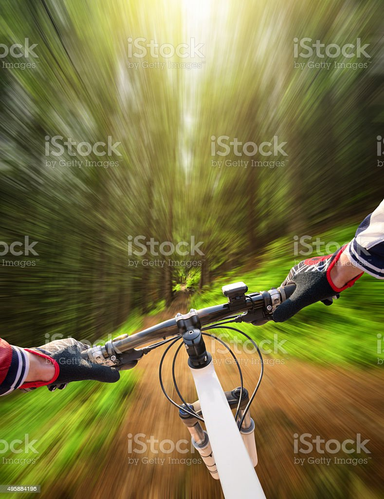 Fast ride stock photo