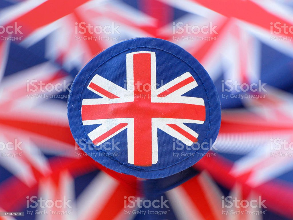 Fast Spinning Pinwheel royalty-free stock photo