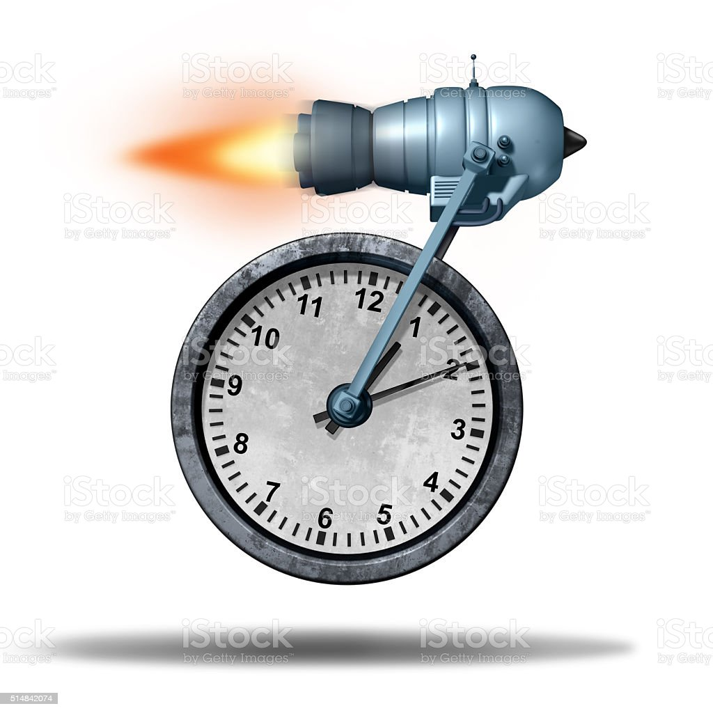 Fast Time stock photo
