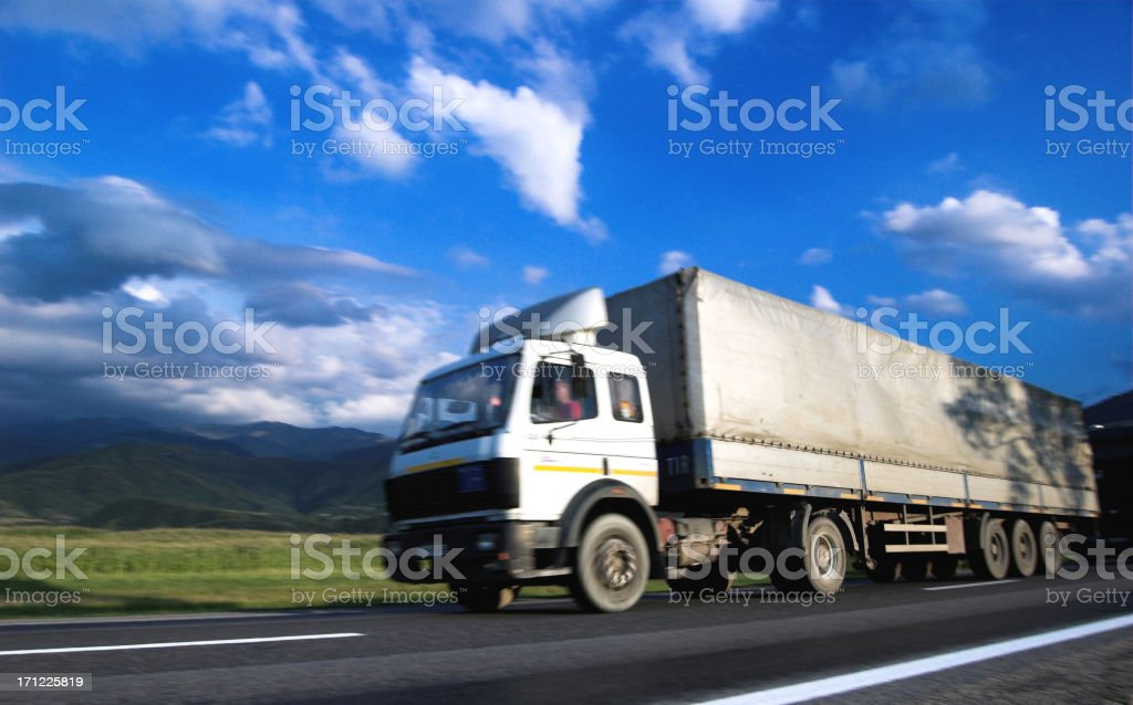 Fast Truck 1 royalty-free stock photo