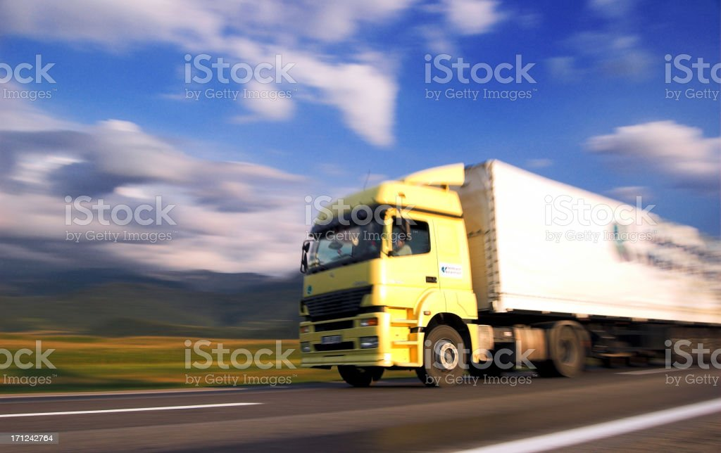 Fast Truck 3 royalty-free stock photo