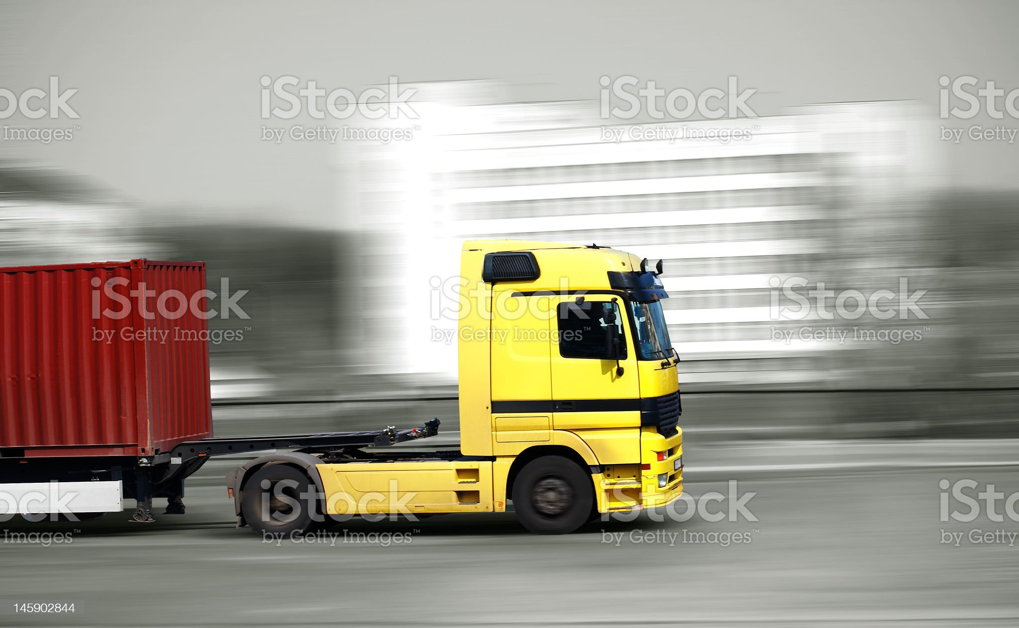 fast truck royalty-free stock photo