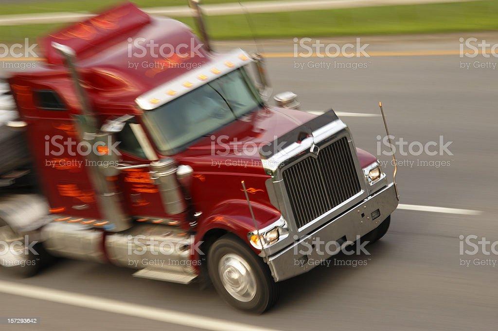 Fast truck stock photo