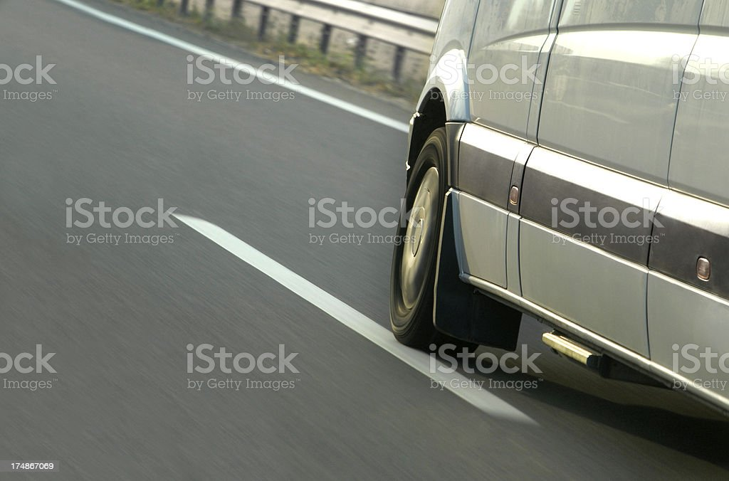 Fast Van (Click for more) stock photo