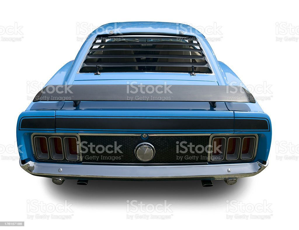 Fastback 1970 Mustang Muscle Car stock photo