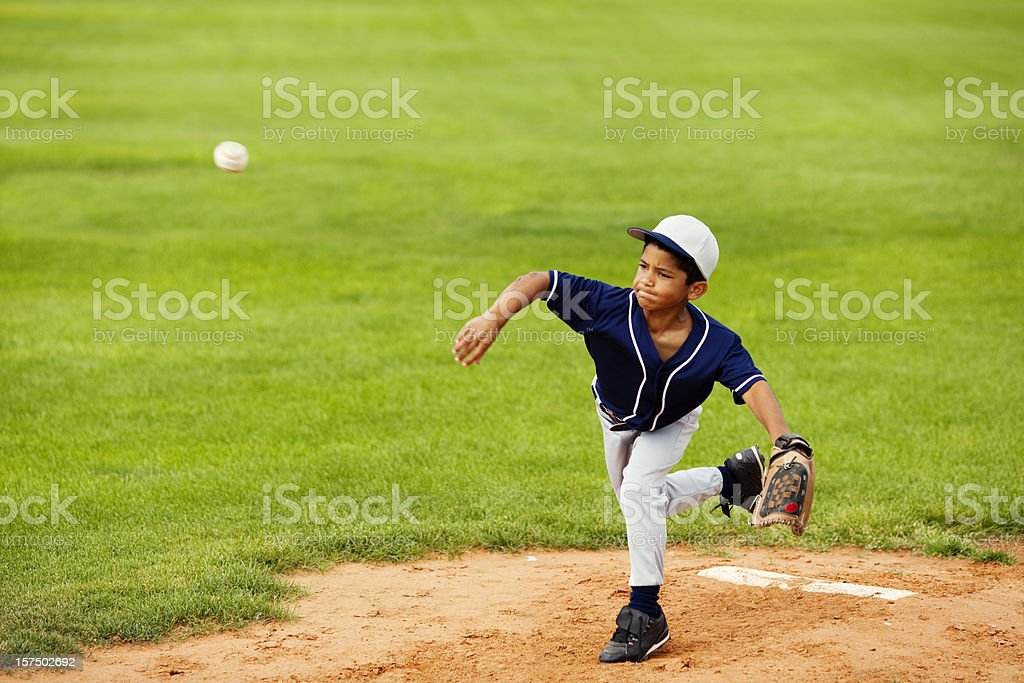 Fastball royalty-free stock photo