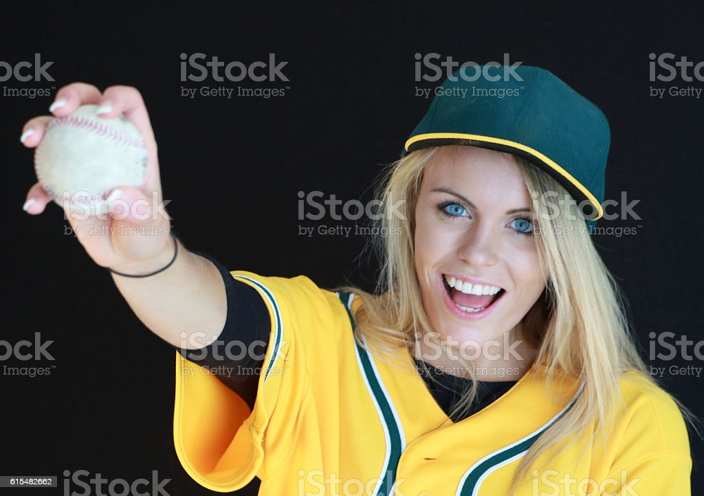 Fastball stock photo