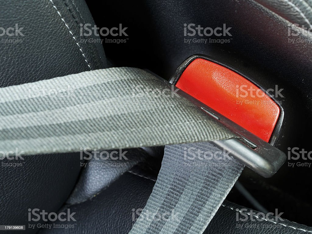 fasten seat belts in the car royalty-free stock photo