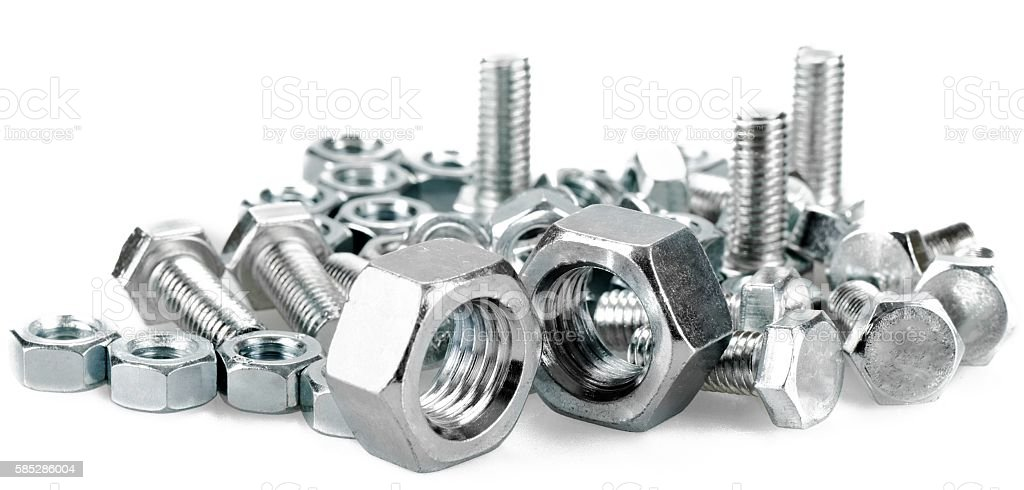 Fasteners stock photo