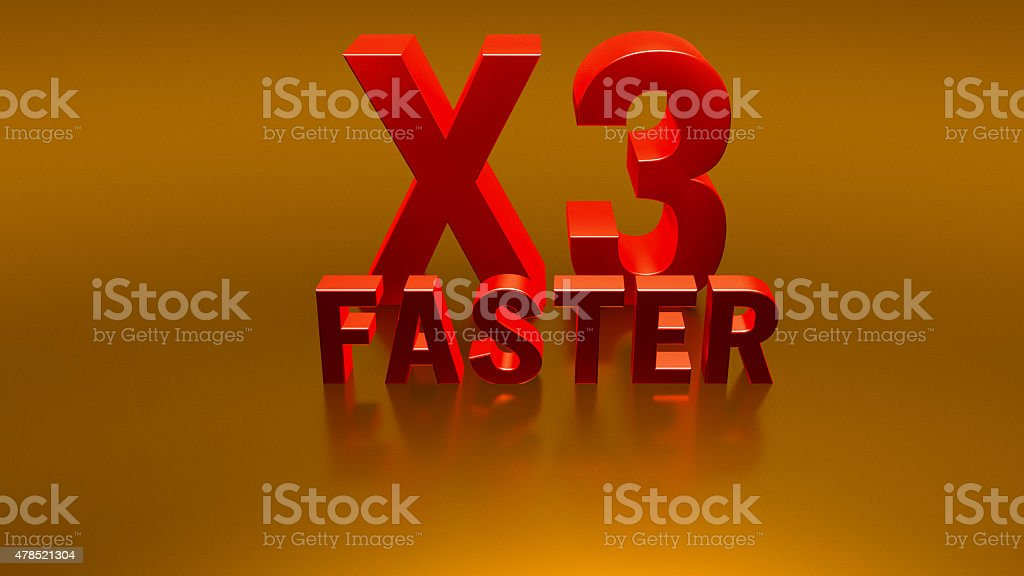 faster technology stock photo