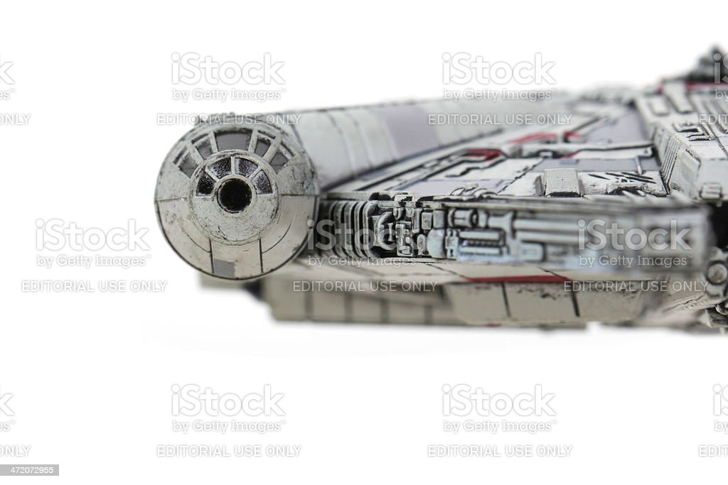 Fastest hunk of junk in the galaxy royalty-free stock photo