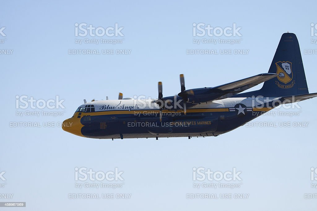 Fat Albert Airlines royalty-free stock photo