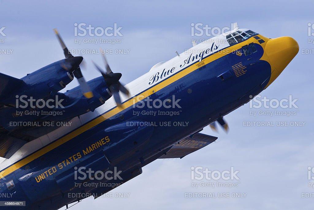 Fat Albert Blue Angels C-130 Hercules royalty-free stock photo