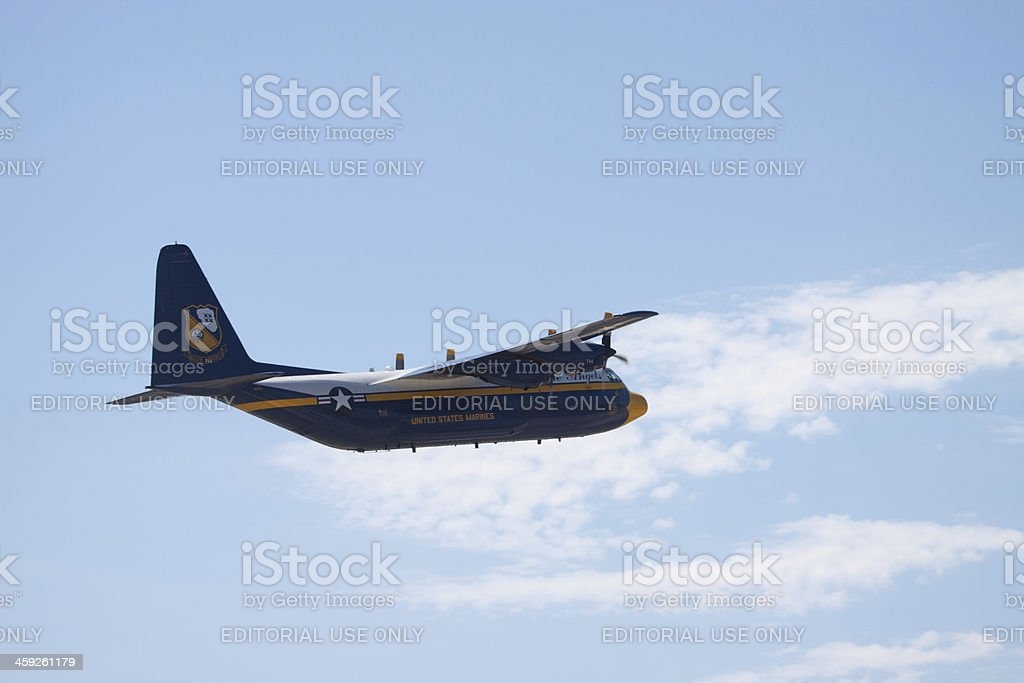Fat Albert Turning Left royalty-free stock photo