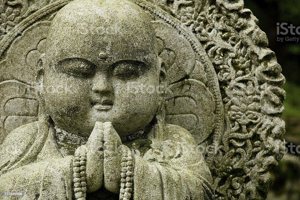 Fat Buddha statue royalty-free stock photo