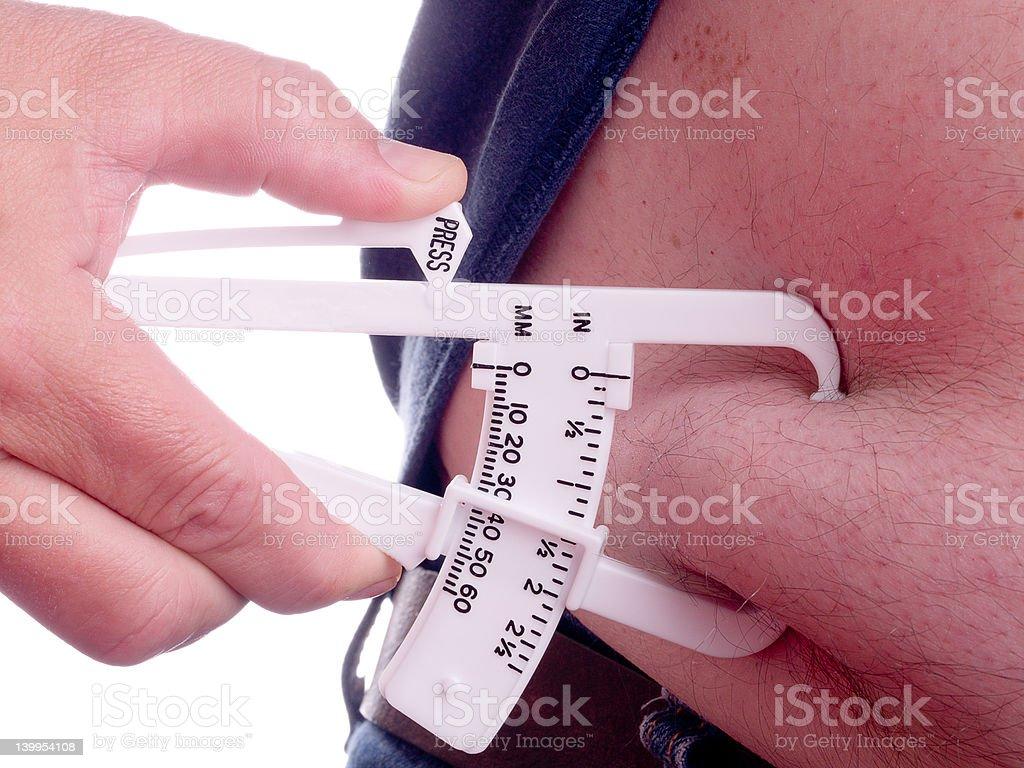 Fat Calipers stock photo