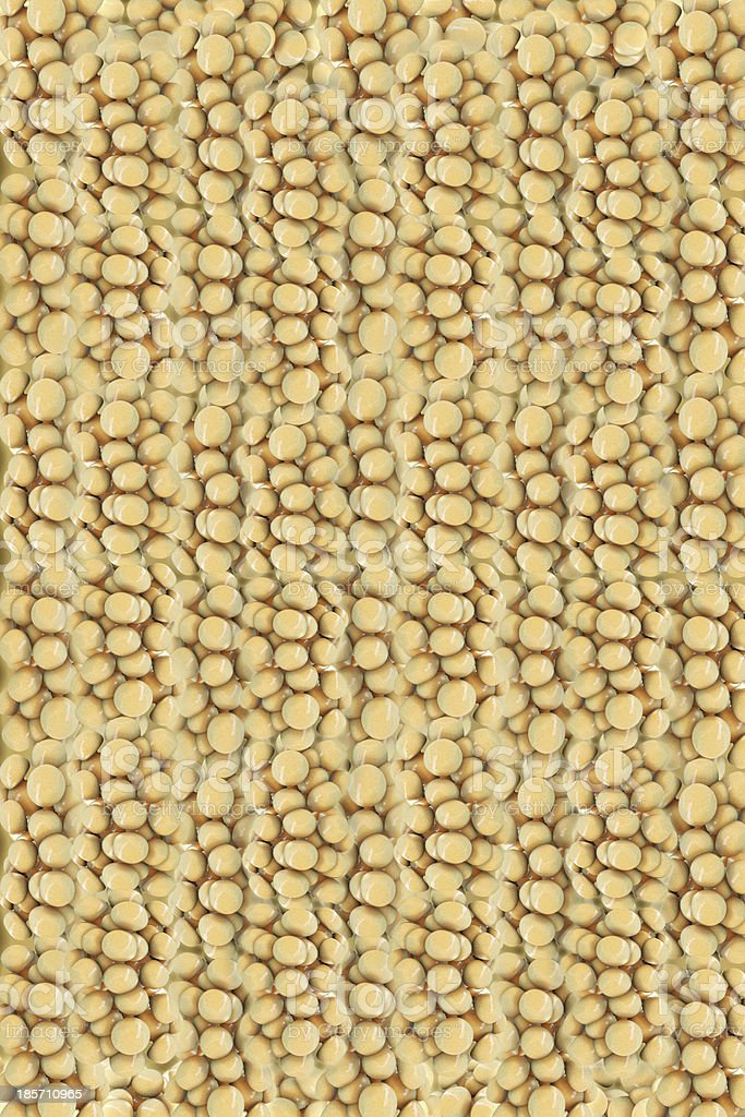 Fat cells - 3d rendered illustration royalty-free stock photo