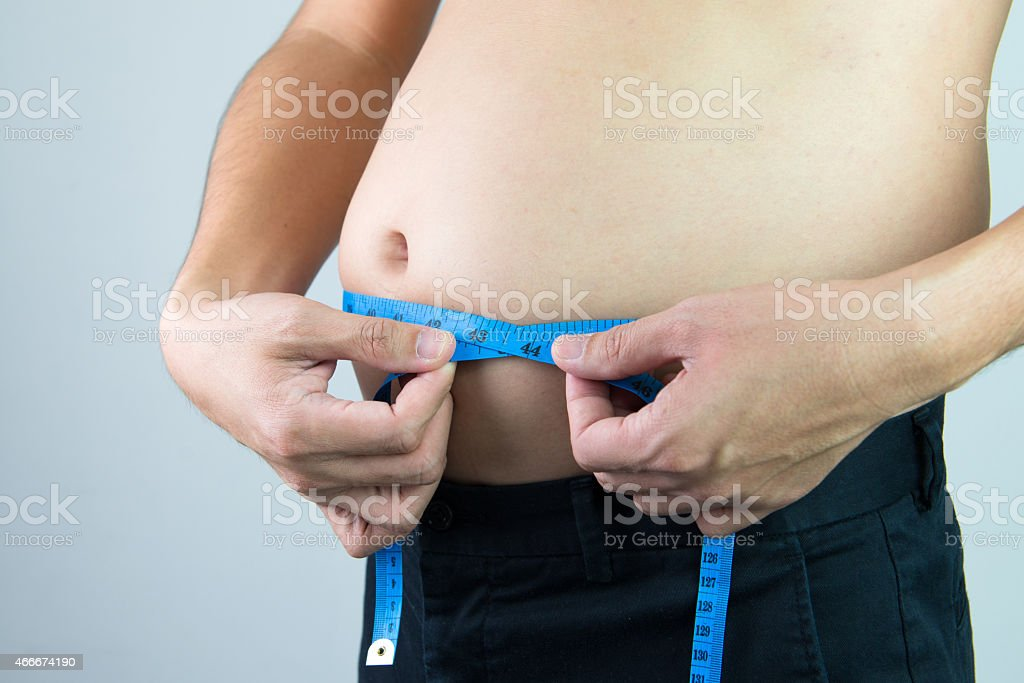 Fat concept stock photo