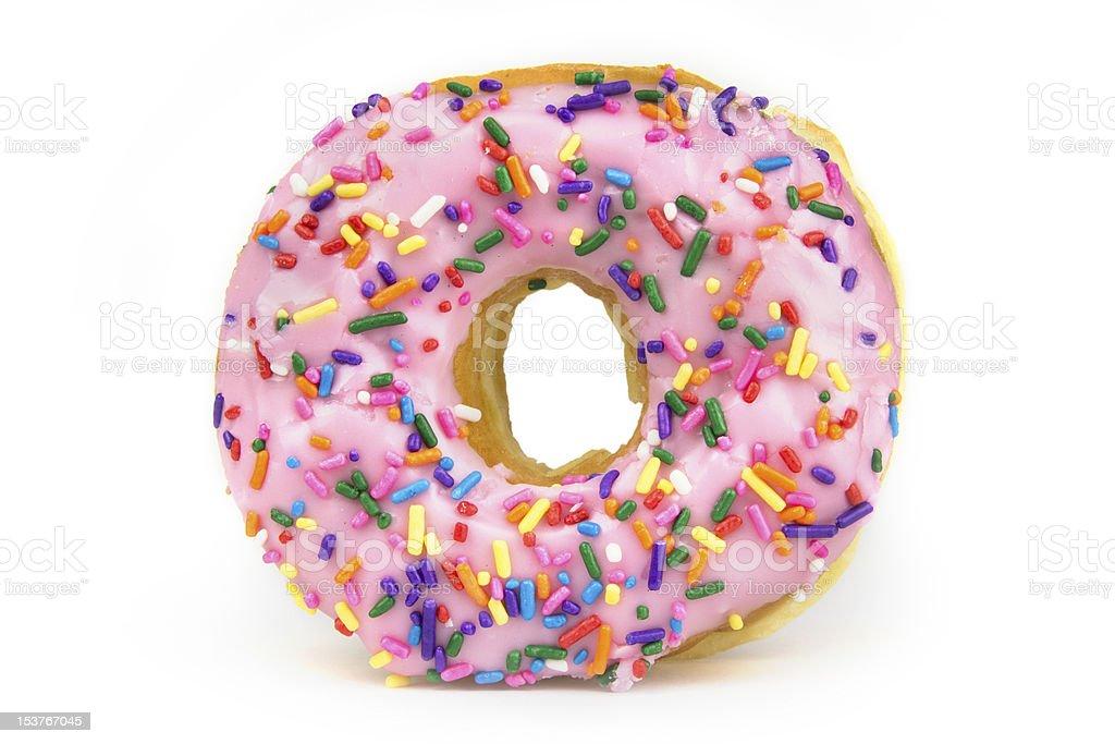 Fat Donut - Unhealthy Food royalty-free stock photo