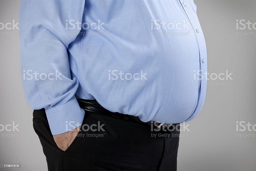 Fat Man stock photo
