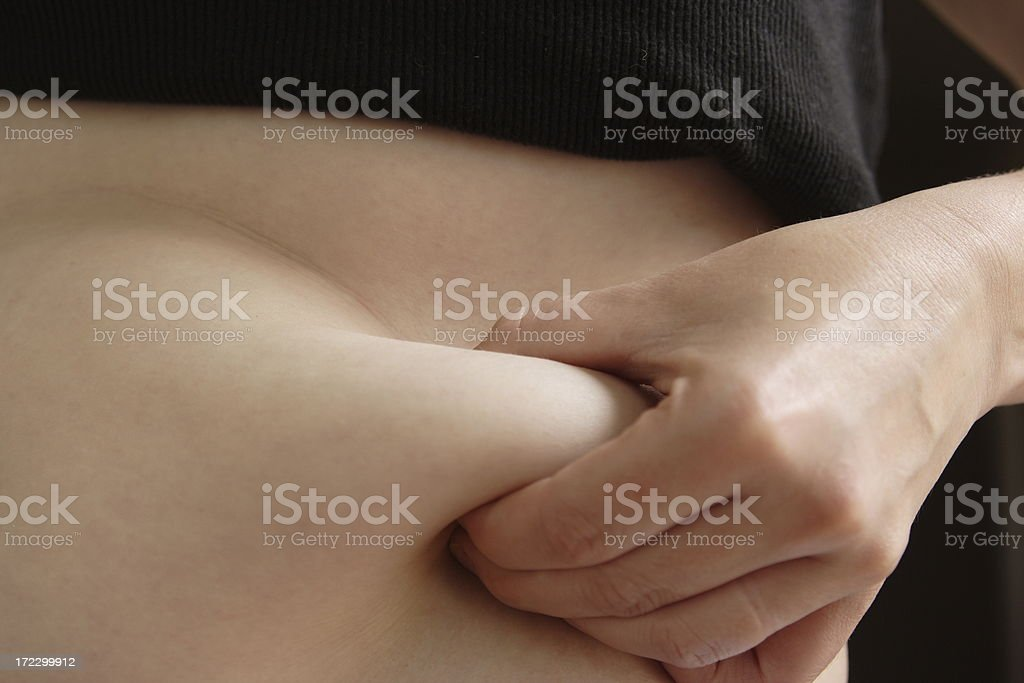 Fat Roll stock photo