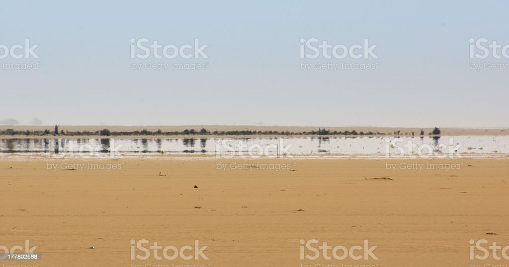 Fata Morgana stock photo