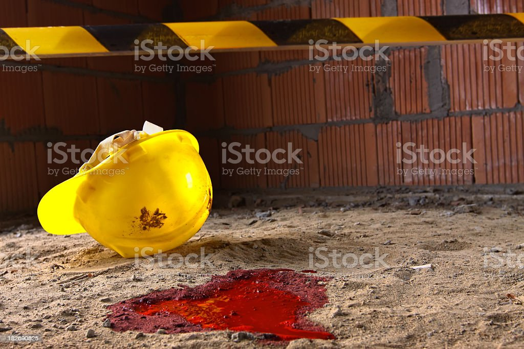 Fatal accident stock photo