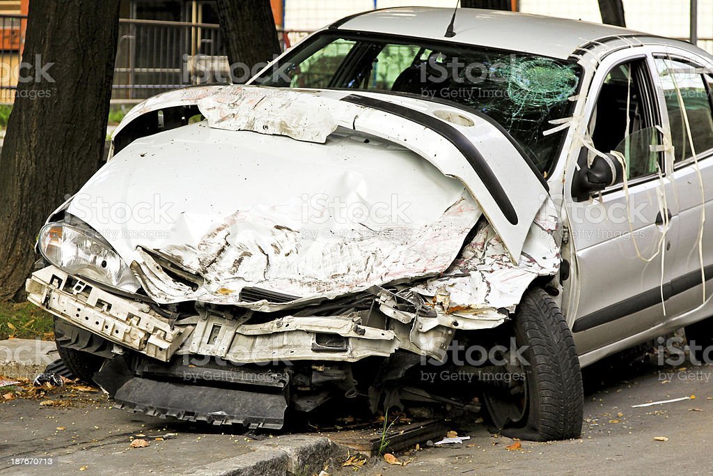 Fatal accident royalty-free stock photo