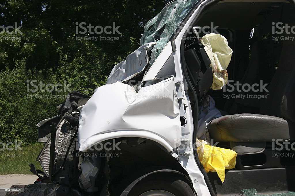 Fatal Crash royalty-free stock photo