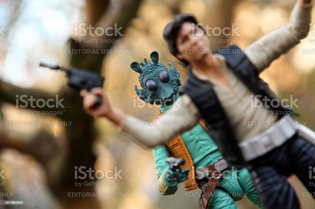Fateful Encounter stock photo