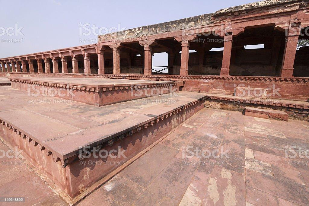 Fatehpur Sikri in Uttar Pradesh, India stock photo