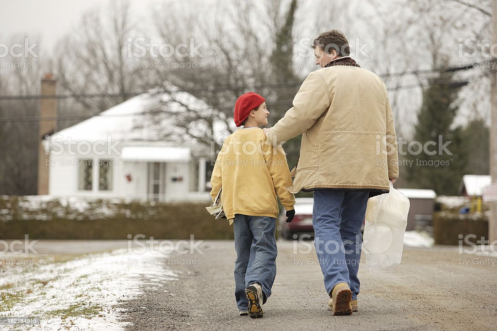 Father and son 1 royalty-free stock photo