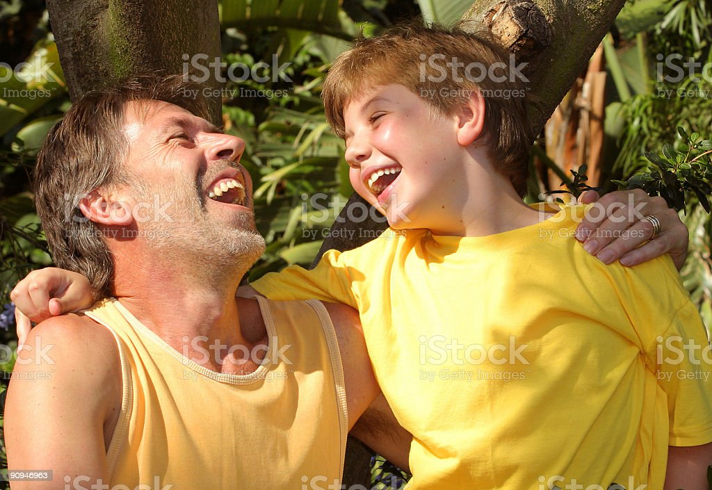 Father and Son two royalty-free stock photo