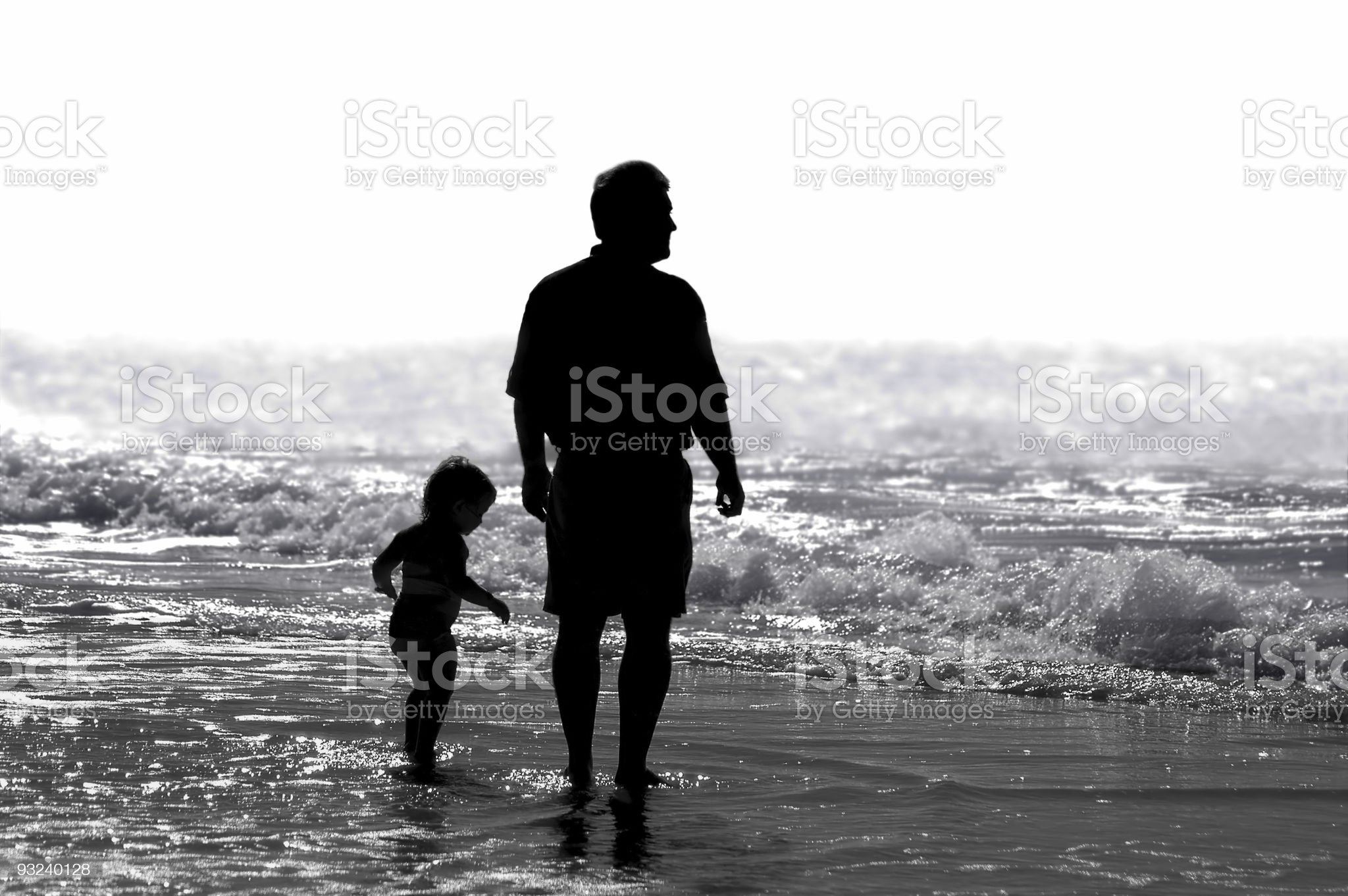 Father & Child royalty-free stock photo